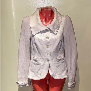 Free People blazer coat jacket sweater top blouse